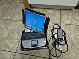 Panasonic ToughBook CF-19 INTEL Core 2 Duo 1100MHz 80Gig Serial ATA HDD 1024mb DDR2 NO OPTICAL DRIVE Wireless WI-FI LCD Genuine Windows 7 Professional Laptop Notebook Computer