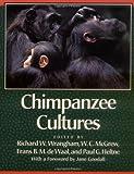 Chimpanzee Cultures