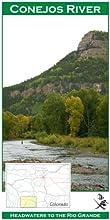 Conejos River 11x17 Fly Fishing Map