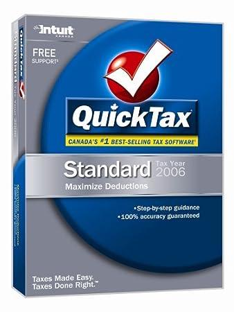 QuickTax Standard 2006 [OLD VERSION]