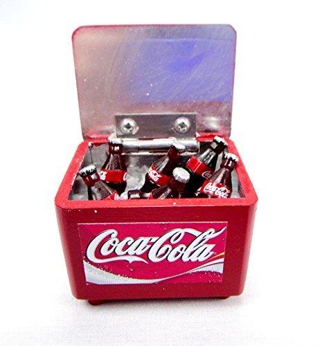 Coke Coca Cola Dollhouse Miniature Vintage Bottles Crate Collection Set Mt-800