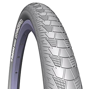 Rubena V99 City Hopper Bicycle Tire with Anti-Puncture System and Reflective Sidewall (Cream, 29x2.0-Inch) at Sears.com