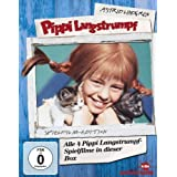 Pippi Langstrumpf - Spielfilm-Box (4 DVDs, Remastered)von &#34;Inger Nilsson&#34;