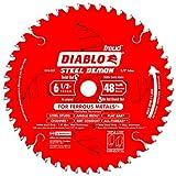 Freud 6-.50in. 48T Diablo Ferrous Metal Circular Saw Blade D0648F