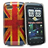 Accessory Master Mobile Phone Case Plastic for HTC Sensation G14 Vintage Union Jack