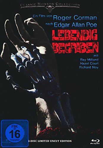 Lebendig begraben - Uncut/Mediabook  (+ DVD) [Blu-ray] [Limited Edition]