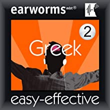 Rapid Greek: Volume 2 Audiobook by Earworms Learning Narrated by Marlon Lodge