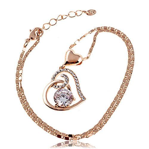 Heart Pendant Necklace for Women: