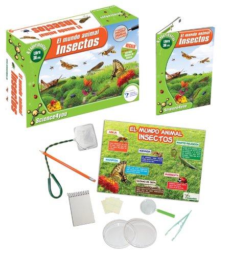 El mundo animal. Insectos , Juguete Educativo A partir de 6 años