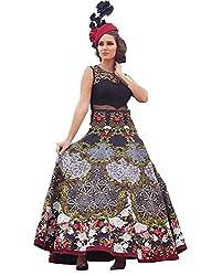 Rozdeal Latest Black Banglori Silk Designer Gown