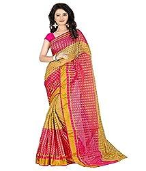 Sanju Smart Pink Color Cotton Saree