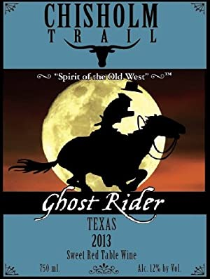 2013 Chisholm Trail Ghost Rider Sweet Red Wine 750 ml