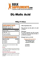 Bulksupplements Pure DL-Malic Acid Powder