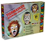 Eulenspiegel Tiermasken Schmink-Palette