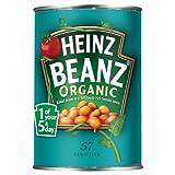 Heinz Beanz Organic Beans 415 g (Pack of 12)