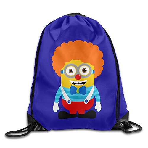 [YYHU Minions Sackpack Rucksack Shoulder Bags Sport Gym Bag - Great For Travel And Everyday Life] (Matt Smith Halloween Costume)