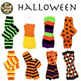 Halloween baby & toddler Leg Warmers in various styles for boys & Girls