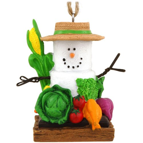 S'mores Gardener Christmas Ornament