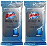 Windex For Electronics Wipes, 25 ct-2 pack