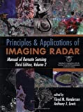 img - for Principles and Applications of Imaging Radar (Manual of Remote Sensing, Volume 2) book / textbook / text book