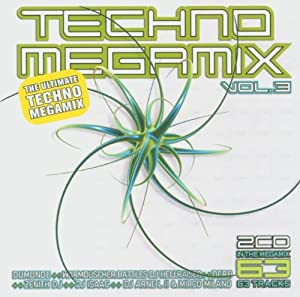 Techno Megamix Vol. 3 - The Ultimate Techno Megamix (Double-CD)