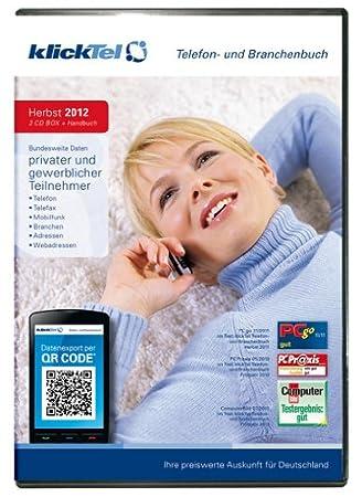 klickTel Telefon- und Branchenbuch Herbst 2012
