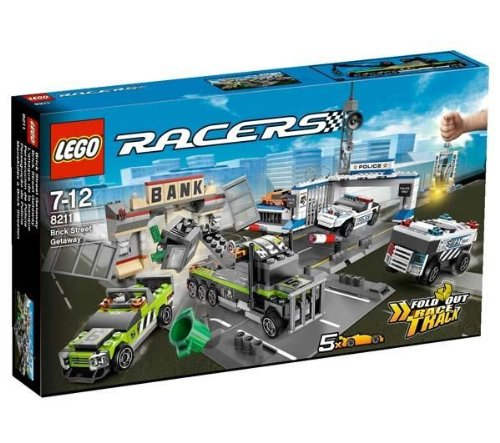 Lego Racers  Brick Street Getaway