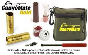 Gaugemate 10-12 Gold Adapter, Pair by Gaugemate