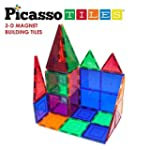 Picasso Tiles Clear 3d Magnetic Build...