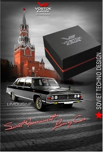 Đồng hồ Nam Vostok-Europe Mens 2426/ 5603061 Gaz-14 Limo Automatic Black