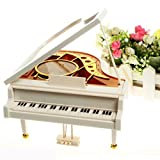 Flexible Decor Mechanical Classical Piano Music Box Dancing Ballerina Musical Toy Educational Play Game