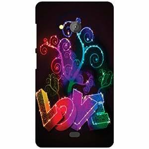 Microsoft Lumia 540 Dual SIM Back Cover Designer Hard Case Printed Cover