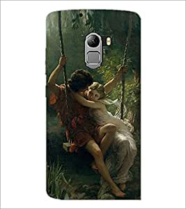 PRINTSWAG LOVE COUPLES Designer Back Cover Case for LENNOVO K4 NOTE