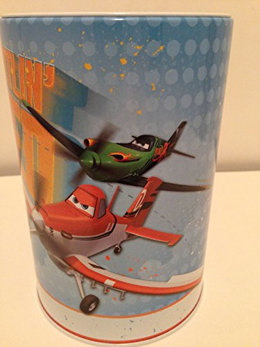 Kids Coin (Money) Bank - Disney Planes - Bolt Rattling Speed - 1