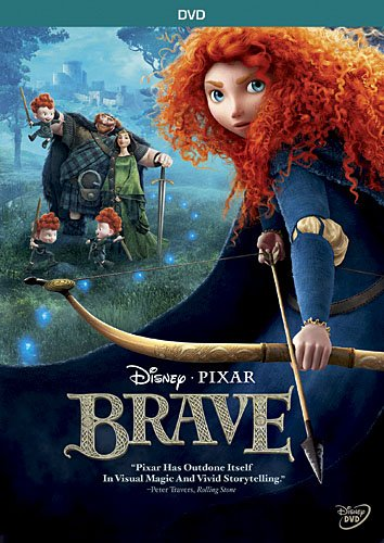 Brave (Directed by Mark Andrews) - ixar Animation Studios, the creator of Toy Story 3, whisks you away on an astonishing adventure to an ancient land full of mystery and tradition. Bursting with heart, unforgettable characters and Pixar's signature humor, Brave is incredible entertainment for the whole family. Take a heroic journey with Merida, a skilled archer and headstrong daughter of King Fergus and Queen Elinor. Determined to carve her own path in life, Merida defies an age-old custom sacred to the unruly and uproarious lords of the land. When Merida's actions inadvertently unleash chaos in the kingdom, she must harness all of her skills and resources - including her clever and mischievous triplet brothers - to undo a beastly curse before it's too late, and discover the meaning of true bravery.