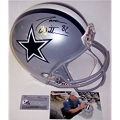 Jason Witten Autographed Hand Signed Dallas Cowboys Full Size Helmet by Hall of Fame Memorabilia