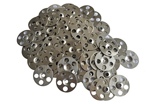 36mm Stainless Steel Washer for Tile Backer Boards (Thermopanel, Marmox, Wedi) - 100No.