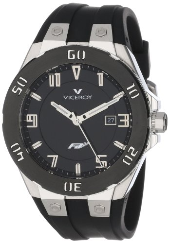 Montre Viceroy Fernando Alonso 47673-55 Homme Noir