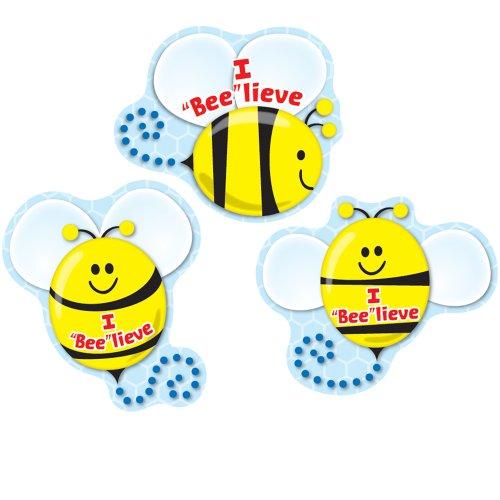 """Carson Dellosa I """"Bee""""lieve Shape Stickers (168081)"""