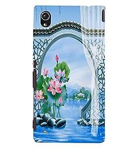 GADGET LOOKS PRINTED BACK COVER FOR Sony Xperia M4 Aqua MULTICOLOR