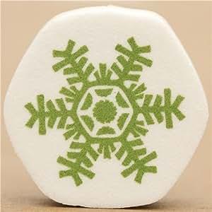 mignons petits flocon de timbre de Noël de kawaii