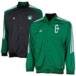 NBA adidas Boston Celtics Youth On-Court Reversible Warm-up Jacket - Kelly Green... by adidas