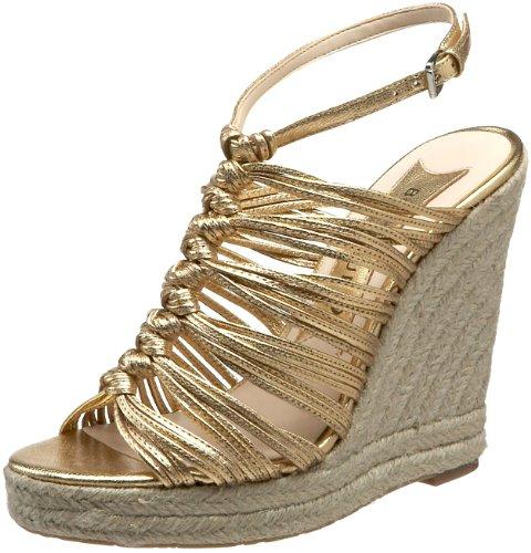 Boutique 9 Women's Barella Espadrille,Gold,7.5 M US