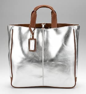 Autograph Leather Shopping Bag - Marks & Spencer