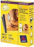 Avery AfterBurner CD/DVD Label System