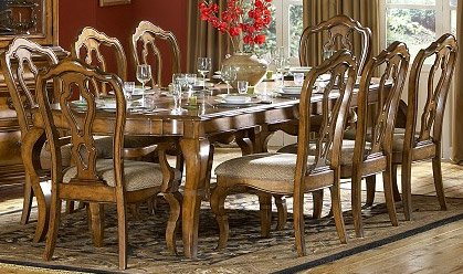 Dining Table of Lexington Collection by Homelegance