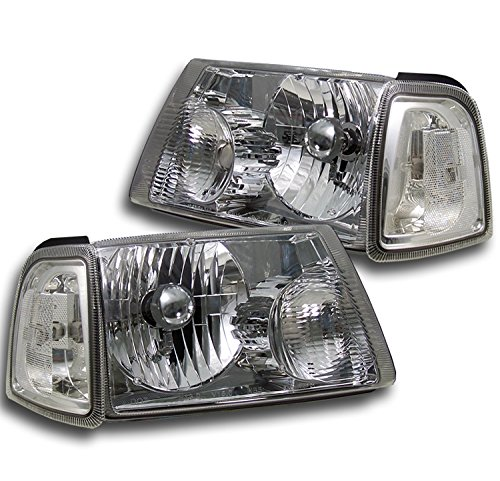 ZMAUTOPARTS Ford Ranger Head Lights+Corner Chrome (2006 Ford Ranger Corner Lights compare prices)