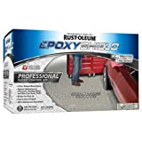 Rust-Oleum 203373 Professional Floor Coating Kit, Silver Gray, 1 Pack, (Color: Silver/Gray, Tamaño: 1 Pack)