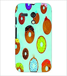 PrintDhaba Donnats D-3861 Back Case Cover for MOTOROLA MOTO G (Multi-Coloured)