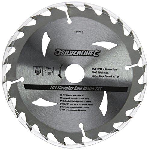 silverline-292712-discos-de-tct-para-sierra-circular-16-24-30-dientes-3-pzas-150-x-20-anillo-de-16-y